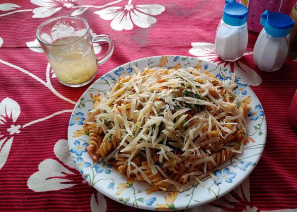 Meals during the Mardi Trekking