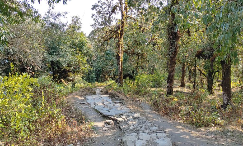 Route of Mardi Trekking